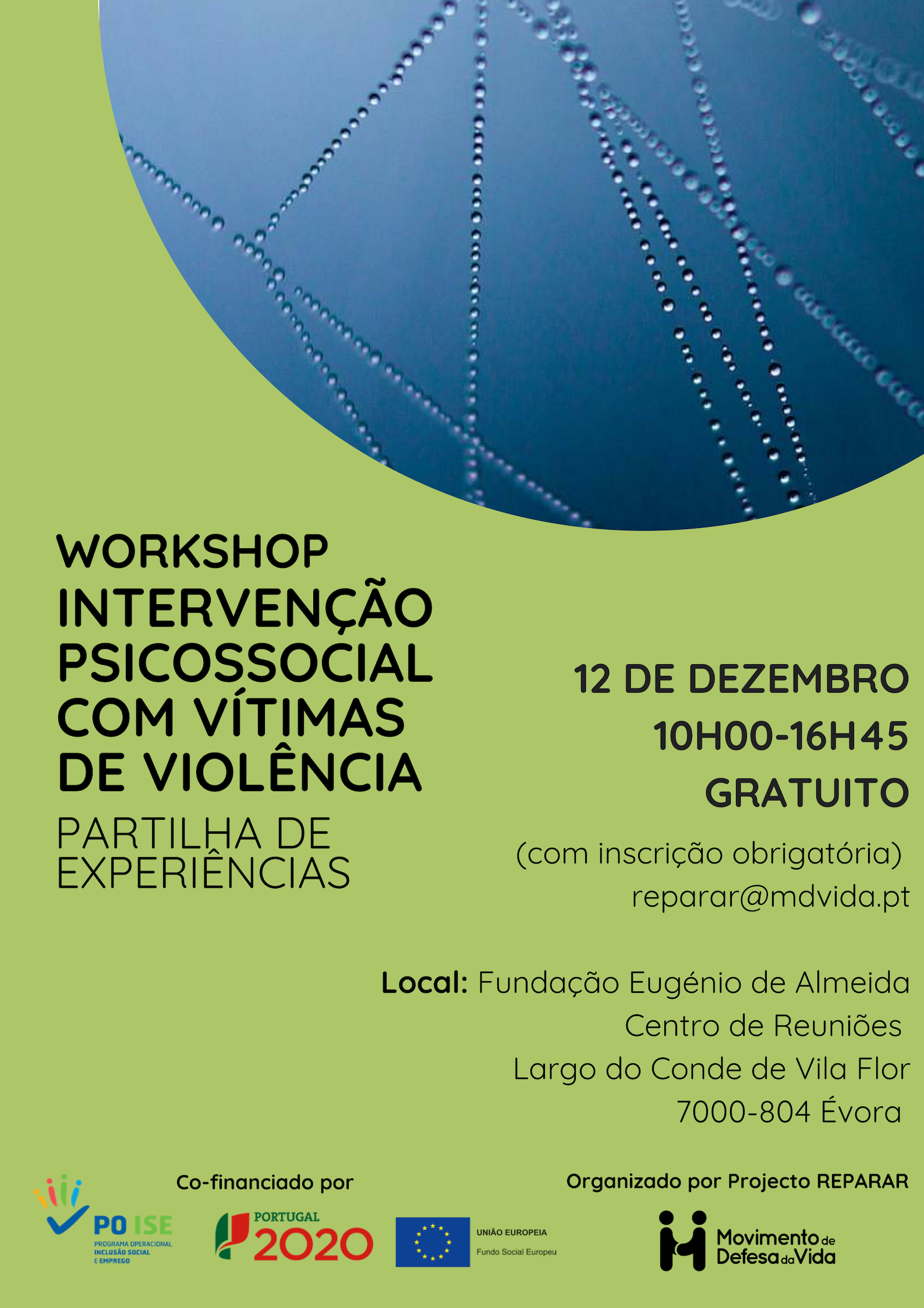 Workshop REPARAR – Évora